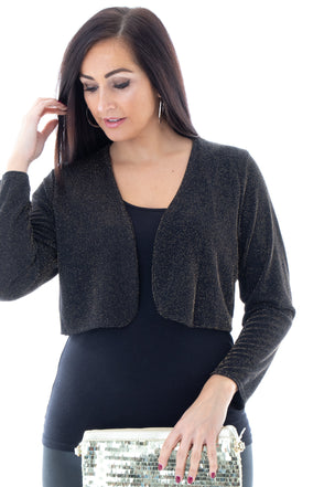 Serenity Sparkle Shrug - Tilletts Clothing (4320541442161)