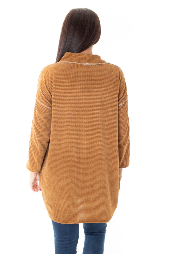 Charlotte Chenille Tunic - Tilletts Clothing (4016756195441)