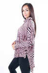 Zia Zebra Top - Tilletts Clothing