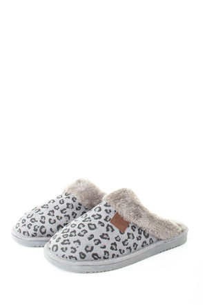 Marble Leopard Slipper - Tilletts Clothing (4051180847217)