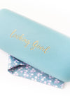 Slogan Glasses Case - Tilletts Clothing (4028349874289)