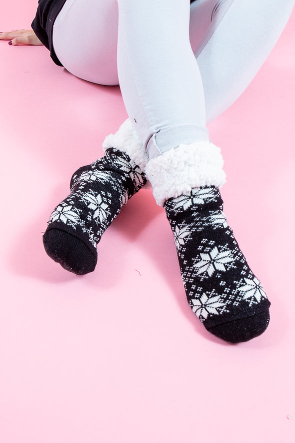 Snowflake Cosy Toes