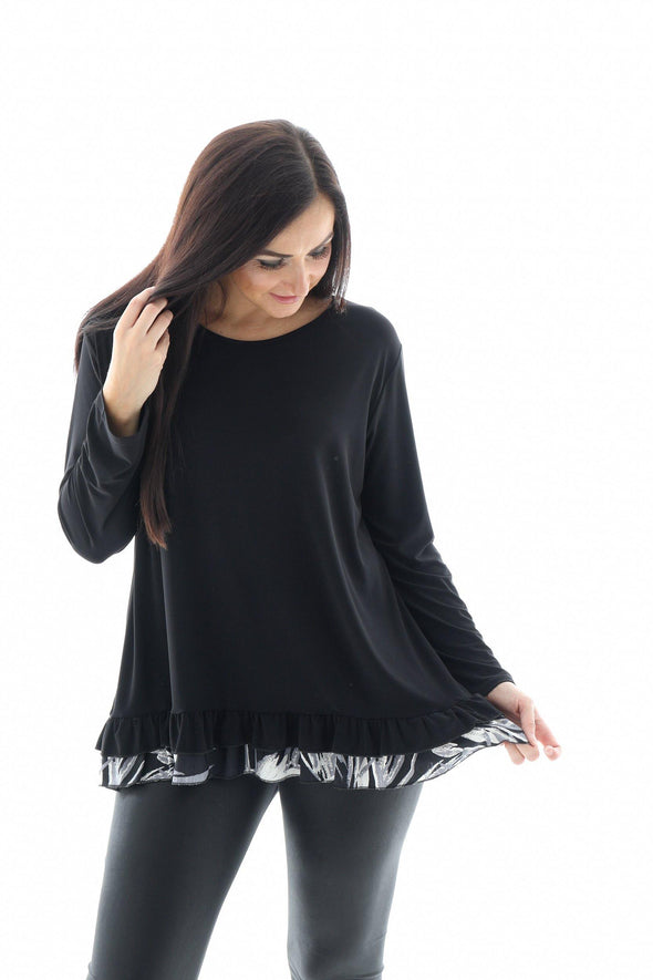 Botanical Frill Top