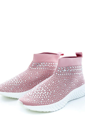 Nellie Sparkle Trainer Boot - Pink
