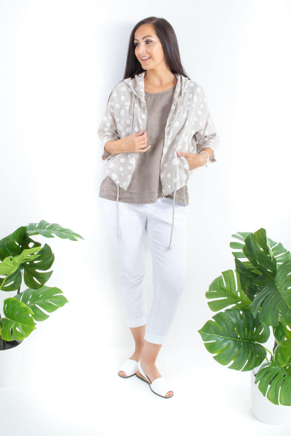 The Willow Crop Hooded Jacket