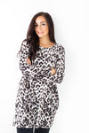 Tasha Animal Swing Dress - Tilletts Clothing (4095056937073)