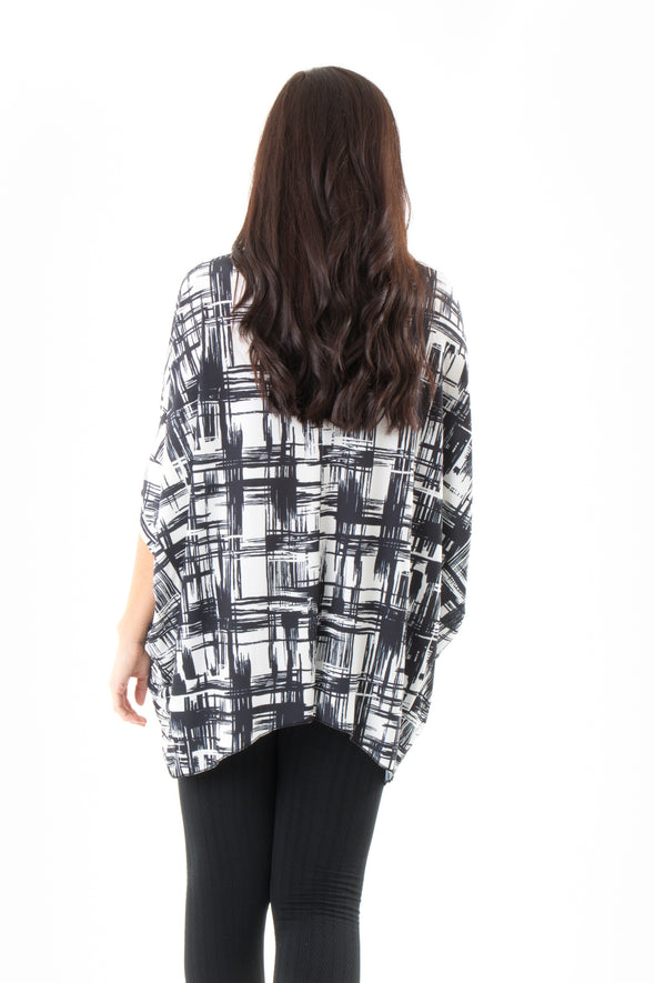 Blaire Batwing Top - Tilletts Clothing (4095199543409)