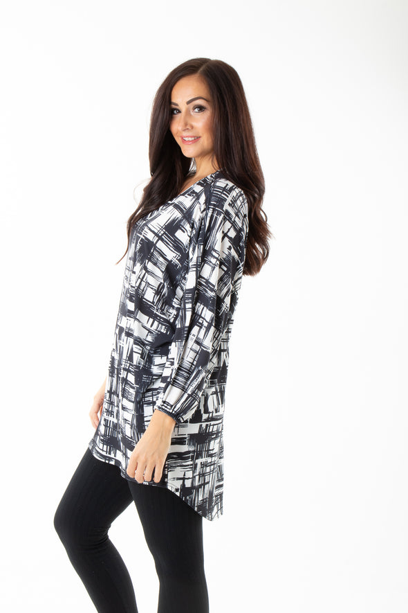 Blaire Printed Tunic - Tilletts Clothing (4095161598065)