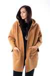 Marley Hooded Coat - Tilletts Clothing (4182420717681)
