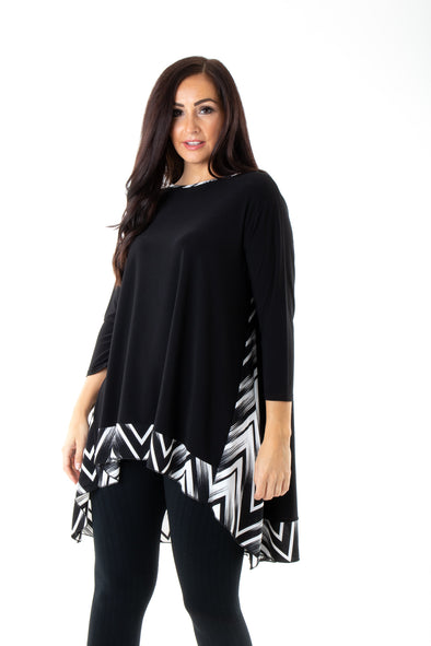 Zig Zag Amber Top - Tilletts Clothing (4094384701553)