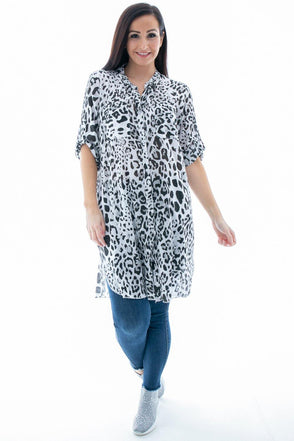 Ada Animal Print Shirt