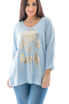 Delta Dreamcatcher V-Neck Top