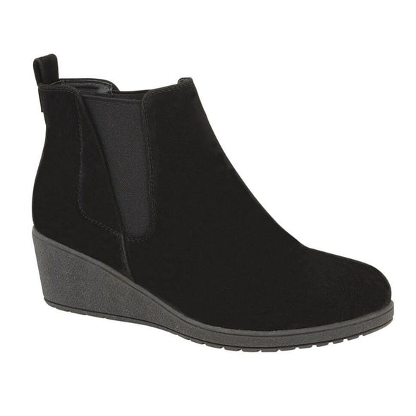 Arlo Wedge Ankle Boot Black
