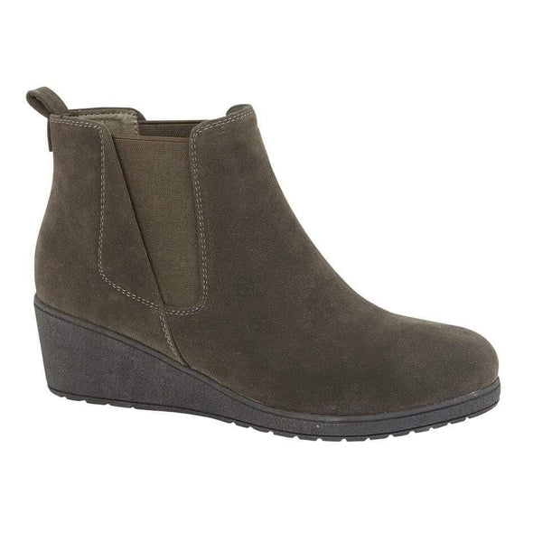 Arlo Wedge Ankle Boot Smoke