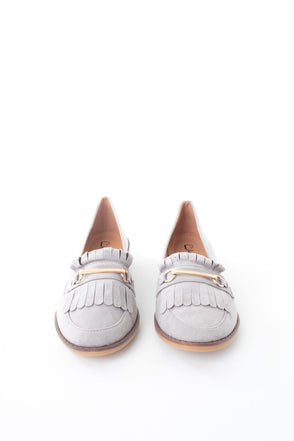 Fringe Detail Loafer - Tilletts Clothing (4075267620977)