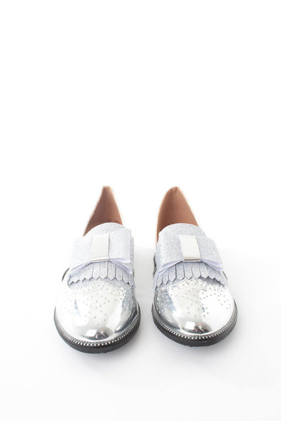 Bow Detail Loafer - Tilletts Clothing (4075237900401)