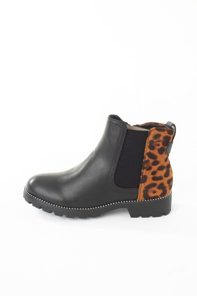 Animal Zip Ankle Boot - Tilletts Clothing (4075218534513)