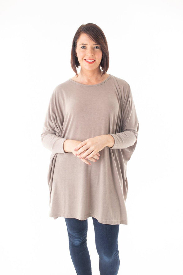 Robin Stretch Basic Top - Tilletts Clothing (4054408822897)