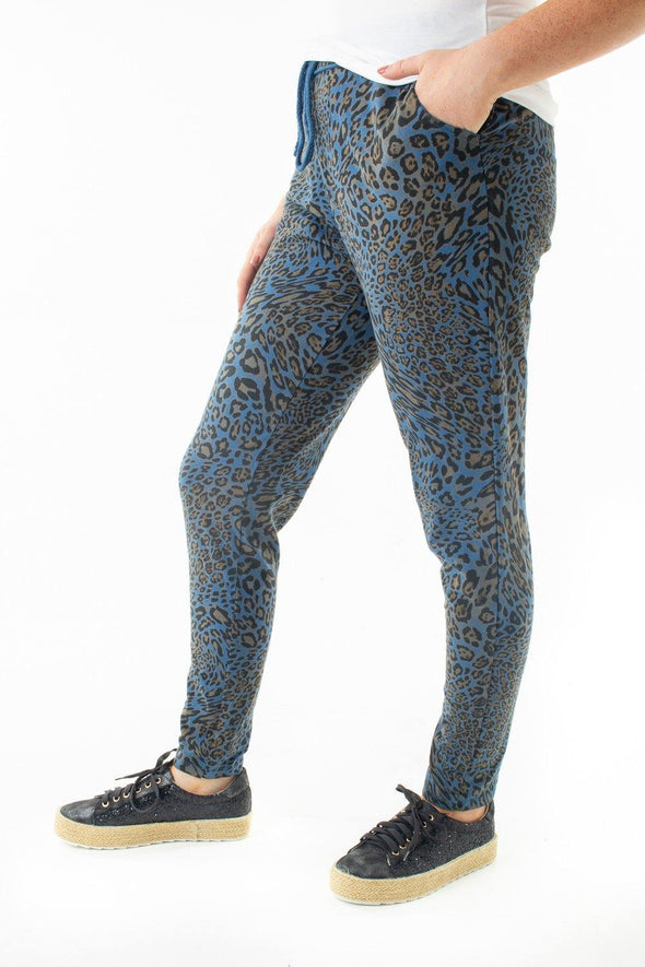 Loren Leopard Joggers - Tilletts Clothing (4054443294833)