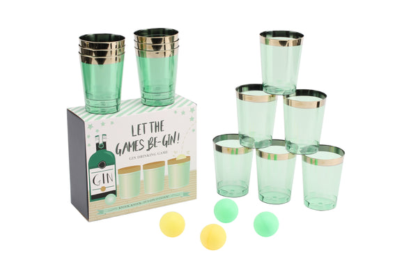 Let The Games Be-Gin Pong