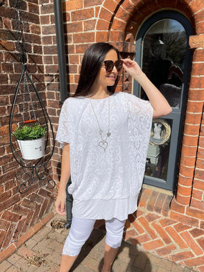 Layered Lace Top Kenzie