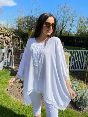 Lace Trim Top Harlow