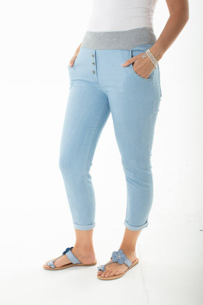 Lysandra Denim Trousers