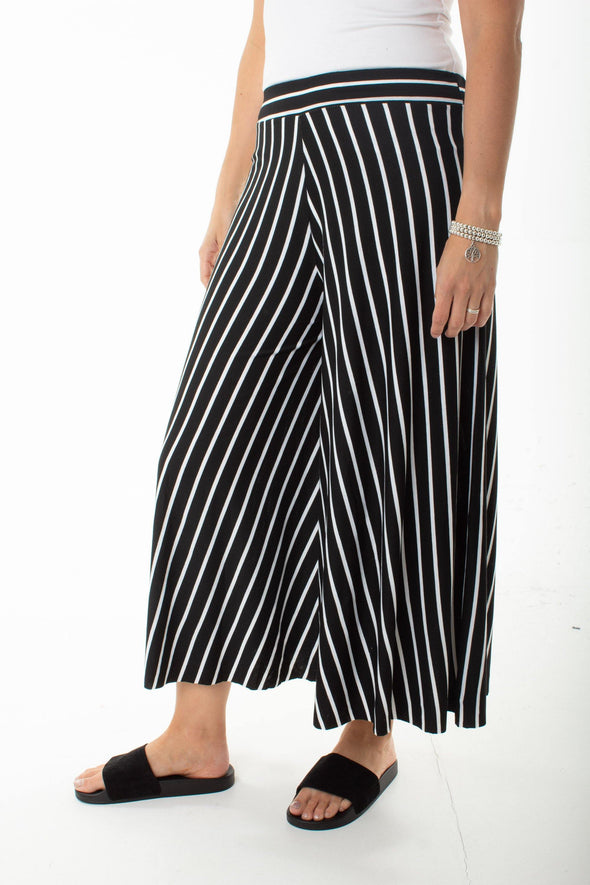 Kennedy Stripe Culottes - Tilletts Clothing (2581731311729)