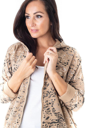 Wanda Wild Print Jacket - Tilletts Clothing (4054456008817)