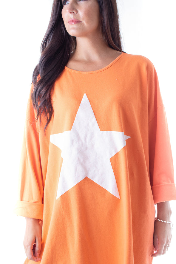 Poppy Star Top - Tilletts Clothing (4095198134385)