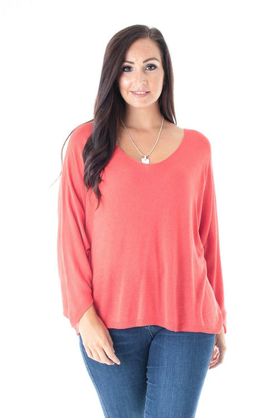 Hammi Scoop Neck Top - Tilletts Clothing (4054391160945)