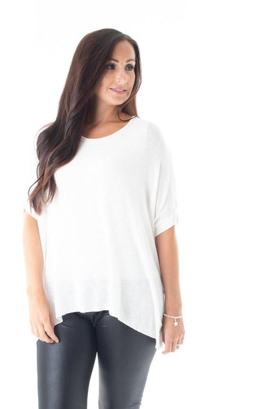 Bessie Basic Top - Tilletts Clothing (4054418522225)