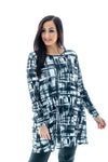 Blaire Printed Swing Dress
