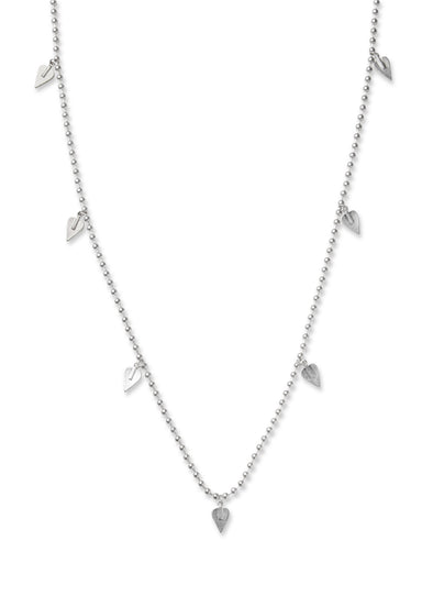 Burley Heart Charm Necklace