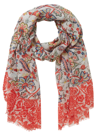 Pepper Paisley Scarf