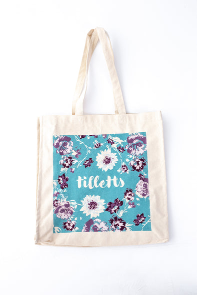 Official Tilletts Tote Bag - Tilletts Clothing (1856081363057)