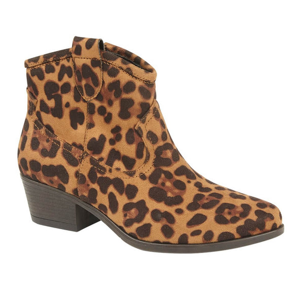 Paloma Leopard Cowboy Boot - Tilletts Clothing (4029734846577)