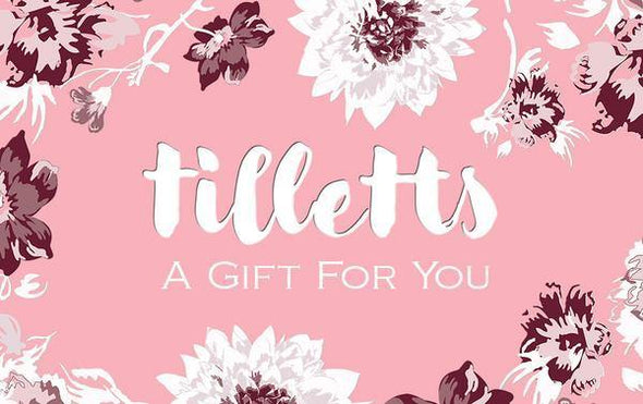 Gift Card - Physical - Tilletts Clothing (4008786788465)