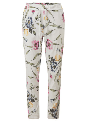 Fliss Floral Cargo Trousers