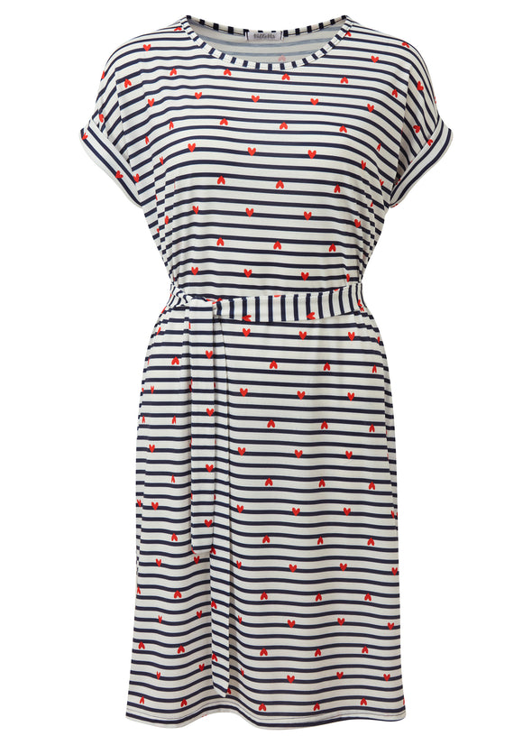 Rebecca Stripe T-Shirt Dress