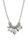 Yarra Short Multi Heart Necklace
