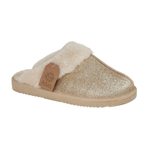 Sparkle Slippers Gold