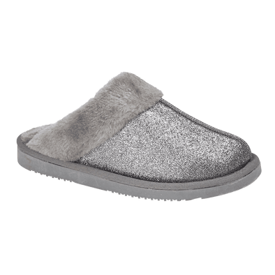 Sparkle Slippers Grey