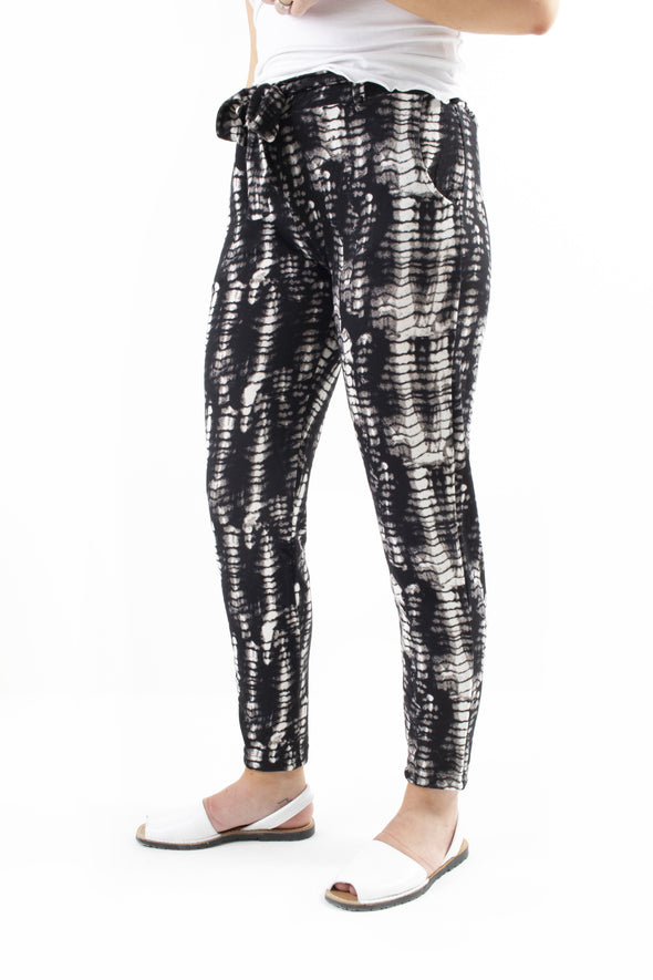 Tasha Printed Trousers - Tilletts Clothing (3990107979889)