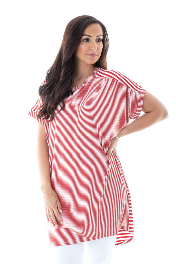 Yasi Striped Top - Tilletts Clothing (2526581915761)