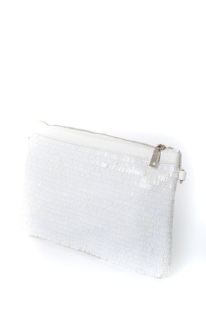 Sara Sequin Clutch - Tilletts Clothing (2484442562673)