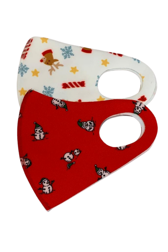 Christmas Fashion Masks Set 3
