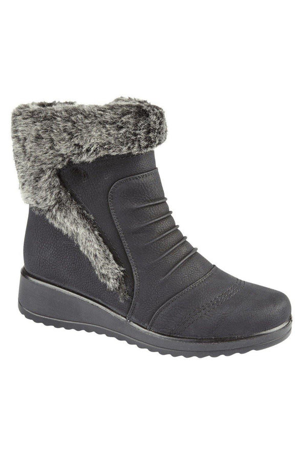 Faux Fur Boot Emily