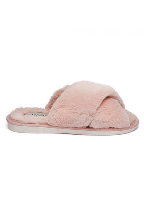 Criss-Cross Slipper Pink Lottie