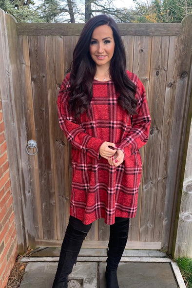 Checked Tunic Sophie